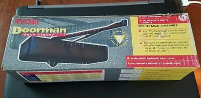 Ryobi Doorman Bronze Heavy Duty Door Closer Size IV Model DM104ULZ