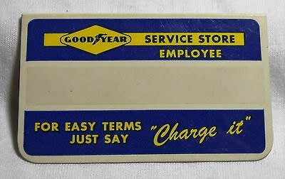 Vintage Goodyear Service Store Employee Badge