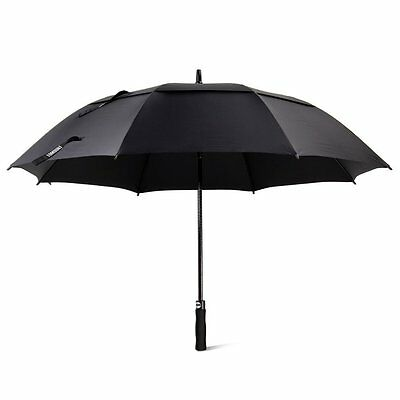 Golf Umbrella, Large Windproof Umbrella for Men, 62 Wind Resistant Umbrella Auto