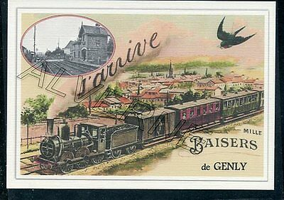 GENLY  ...... TRAIN  souvenir  creation moderne serie limitee numerotee