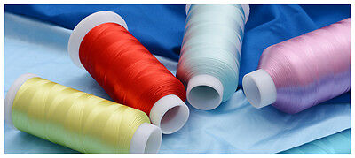 Embroidery Machine Thread Rayon Viscose 2500mtr 80gm Each. 180+ Colors Choose