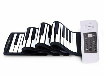Konix PC88 Easy Roll Flexible 88keys Piano electric lion-battery roll up piano