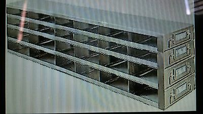 Freezer Drawer Racks for 96-Well & 384-Well MP or Microtube Boxes, UFDMP-64