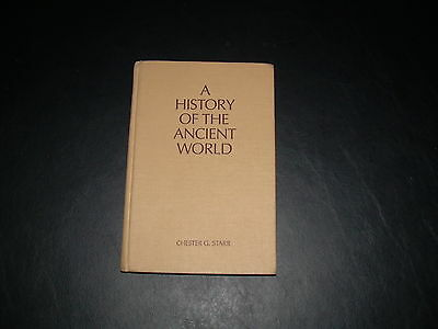 A History of the Ancient World by Chester G. Starr, 3rd Edition, Hardback