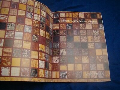 CHRISTIES The Humphrey Whitbread Collection 2001 Full Colour 150 Pages!