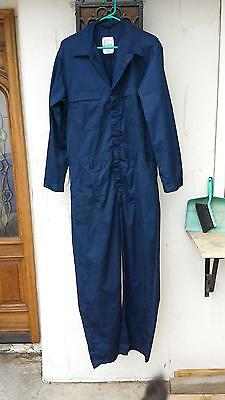 Used Mens 44L coveralls Navy Blue