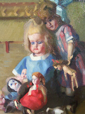 Antique Oil painting by the listed American artist Arthur Millier