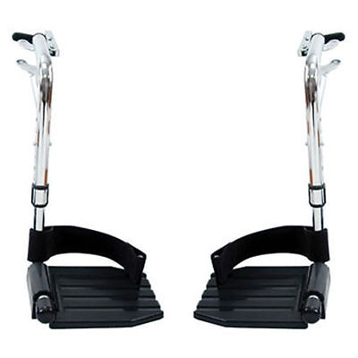 Invacare Wheelchair Swing away Footrests with Heel Loops T93HC LEFT & RIGHT