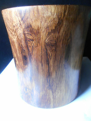 Huanghuali Wood Brush Pot