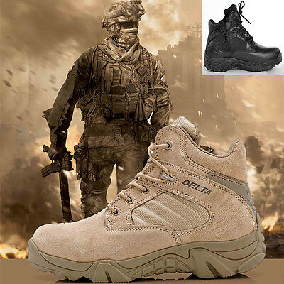 Men Outdoor Ankle Boots Desert Combat Military US Tactical Footwear Hiking Shoes