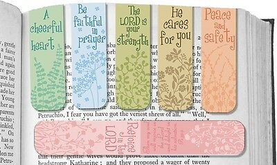 AngelStar Pack of 6 Touch of Faith Magnetic Bookmarks
