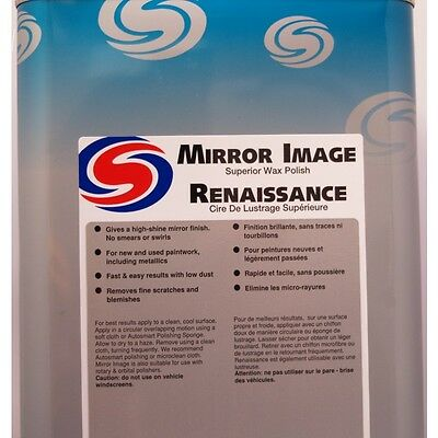 AutoSmart Mirror Image Premium Car Care Polish Wax Bond Shine 5 L FREE DELIVERY