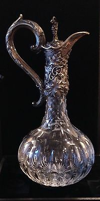 Outstanding English Sterling Crystal Claret London 1836