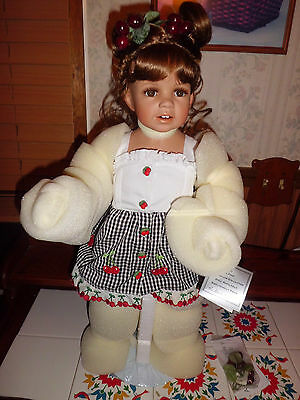 "Monika Levenig 24"" tall Candy  Kisses Danbury Mint"