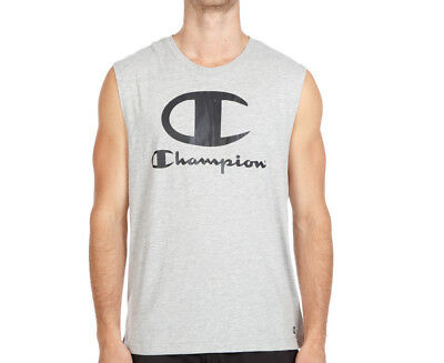 Champion Men's VT Icon Muscle Tank - Oxford Heather