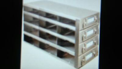 Racks For 100-Cell Hinged Top Plastic Storage Boxes, UFDHT-34