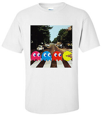 Pacman - Abbey Road T-Shirt  Small, Medium,large & Xl