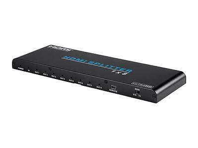 Blackbird 4K Pro 1x8 HDMI® Splitter with HDCP 2.2 and EDID Support