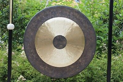 36'' Chau Gong and wood Mallet  For Meditation and Music Therapy