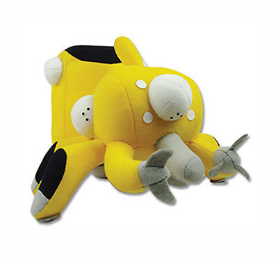 "Ghost in the Shell Stand Alone Complex Tachikoma Yellow Plush Toy 5"" H Licensed"