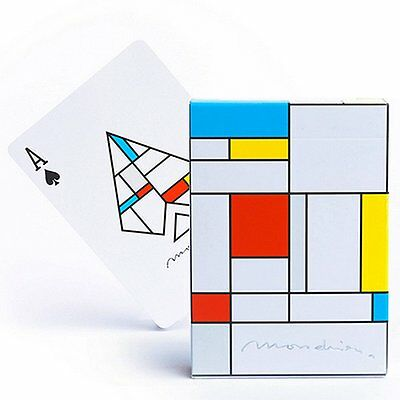 Mondrian Playing Cards Poker Playing Cards Rare