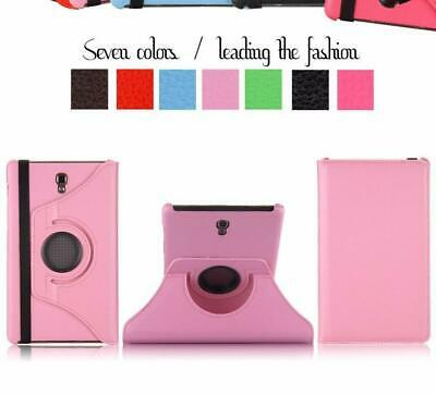 "PU Leather Rotating Stand Case Cover For Samsung Galaxy Tab S 8.4"" SM-T700 T705"