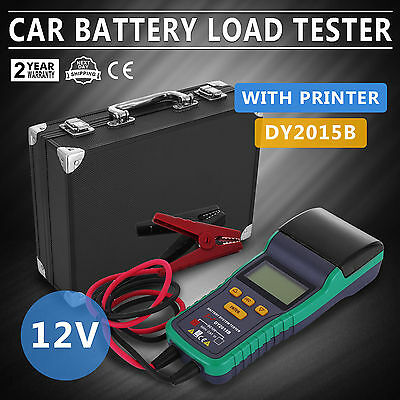 VEVOR  Automotive Car Battery Load Tester 12V Battery Analyzer With Printer