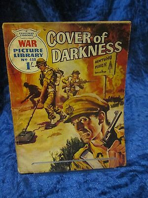 War Picture Library No 498 COVER OF DARKNESS 1969
