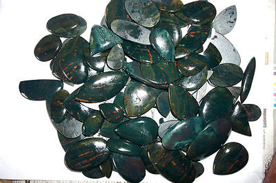 Wholesale Lot 500 Ct 100%Natural Bloodstone Multi Shape Cabochon Loose Gemstone