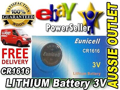 Quick Delivery CR1616 Lithium Button Cells Battery 3V 1 pcs - Stock in Australia