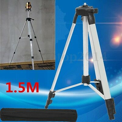 Universal Adjustable Alloy Tripod Stand Survey Contractor Laser Air Level + Bag