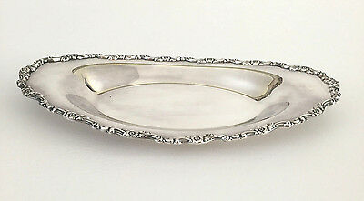 vintage WM A Rogers Silver Company silver plated bread tray 1950's 1960's