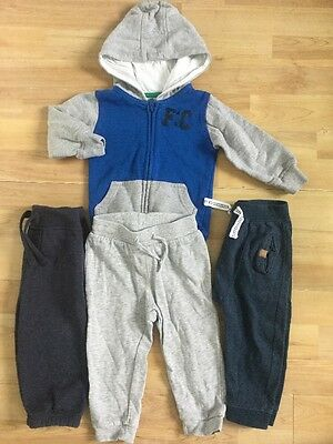 Baby Boys Jogging Bottoms Bundle And Hoodie H&m French Connection Etc