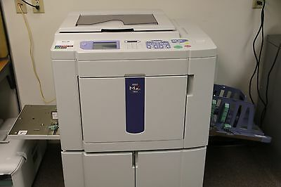 Risograph Duplicator MZ 790U  6 color drums + extras, low count, GREAT Condition