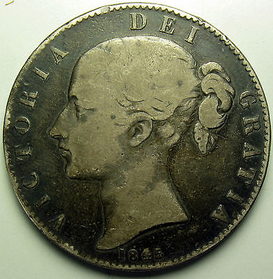 1845 Great Britain Crown