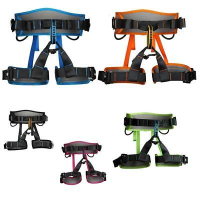 MagiDeal Safety Rock Climbing Tree Arborist Rappelling Rescue Harness Seat Belt
