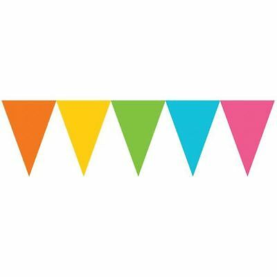 Pennant Banner Multi Colour 4.5m Birthday Wedding Street Party Decorations