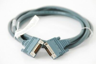 Cisco LFH60 Plug to X.21 DB15 DTE Plug 10ft Cable 72-0789-01 3Meter