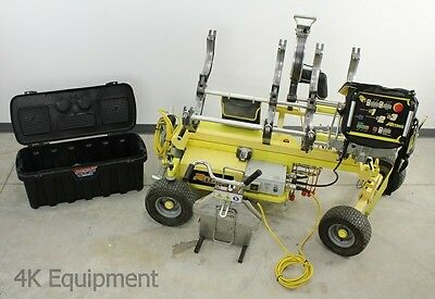 "Ritmo Ram 28 Electric Pipe Welder Butt Fusion Machine, 2""- 8"" Pipe, Hydraulic"