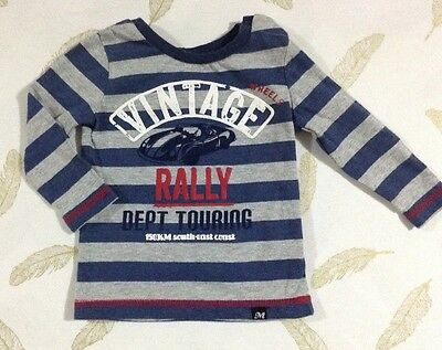 Milky Baby Boys Long Sleeve Top Size 0