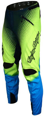 Troy Lee Designs Sprint Youth Pants Starburst Flo Yellow 2017
