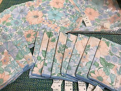 Nos Set Os 12 Spring Pastel Floral Placemat & Table Napkin ~Tabletops Robinsons