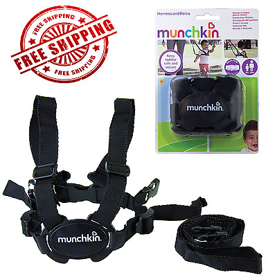 Munchkin Harness and Reins Strong Straps and Durable Buckles Plastic Clips