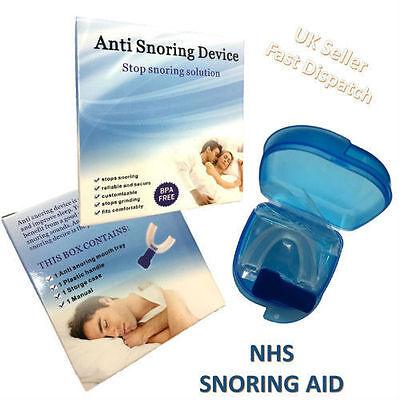 NHS Snoring Relief Stop Snoring Device cure sleep apnoea Brand new in Box