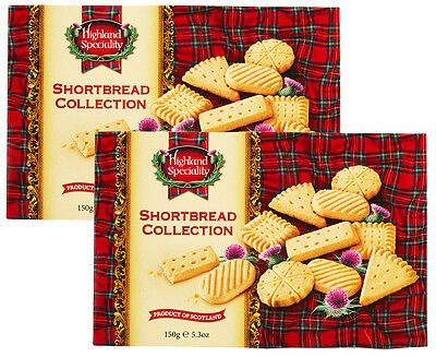 2 x Campbells Scottish Shortbread Collection 150g