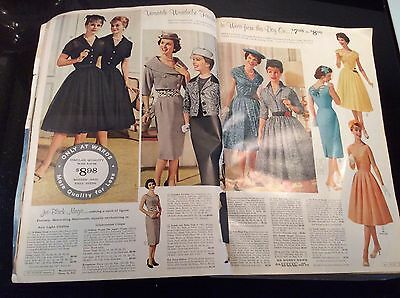 Vintage Collectible 1960 Montgomery Ward Spring Summer Catalog Clothes Household