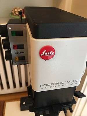 Leitz/Leica focomat V35 AUTO FOCUS Enlarger for 35mm film COLOR HEAD, NEAR-MINT