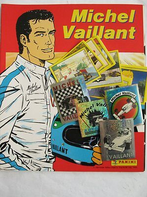 Michel VAILLANT 1993-ALBUM complet PANINI (216 images couleurs+ 18 images métal