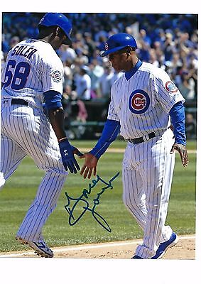 Gary Jones Auto Autographed 8X10 Photo Signed Picture W/coa Chicago Cubs 3