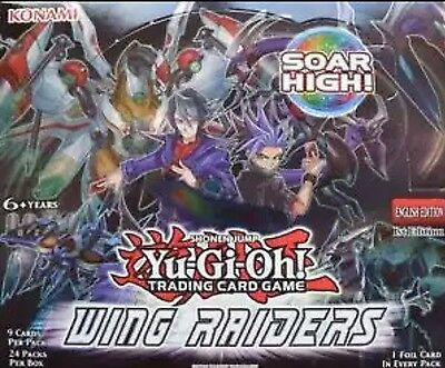 Wing Raiders WIRA Yu-Gi-Oh Common, Super Rares, Ultra Rares 1st Edition Cards